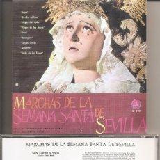 CDs de Música: MARCHAS DE LA SEMANA SANTA DE SEVILLA - BANDA MUNICIPAL Y DEL REGIMIENTO DE SORIA DE SEVILLA. Lote 277759638