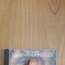 CDs de Música: LORENZO GONZÁLEZ. COMO SIEMPRE. Lote 277759838