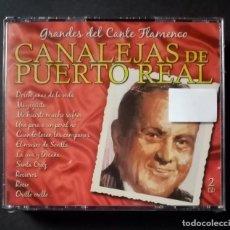 CDs de Música: CANALEJAS DE PUERTO REAL - GRANDES DEL CANTE FLAMENCO - 2XCD´S 2007 - DIVUCSA (NUEVO / PRECINTADO). Lote 277761053