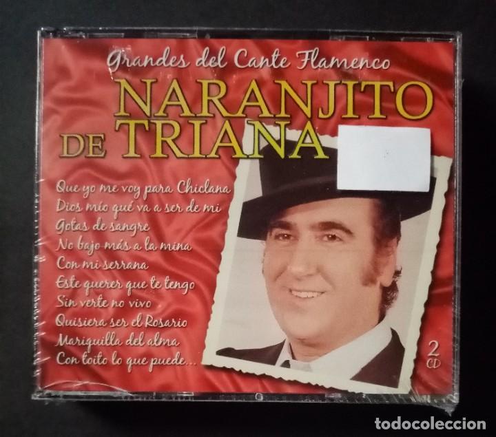 NARANJITO DE TRIANA - GRANDES DEL CANTE FLAMENCO - 2XCD´S 2007 - DIVUCSA (NUEVO / PRECINTADO) (Música - CD's Flamenco, Canción española y Cuplé)
