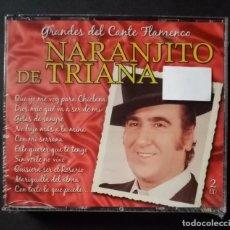 CDs de Música: NARANJITO DE TRIANA - GRANDES DEL CANTE FLAMENCO - 2XCD´S 2007 - DIVUCSA (NUEVO / PRECINTADO). Lote 277761738