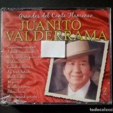 CDs de Música: JUANITO VALDERRAMA - GRANDES DEL CANTE FLAMENCO - 2XCD´S 2007 - DIVUCSA (NUEVO / PRECINTADO). Lote 277761873