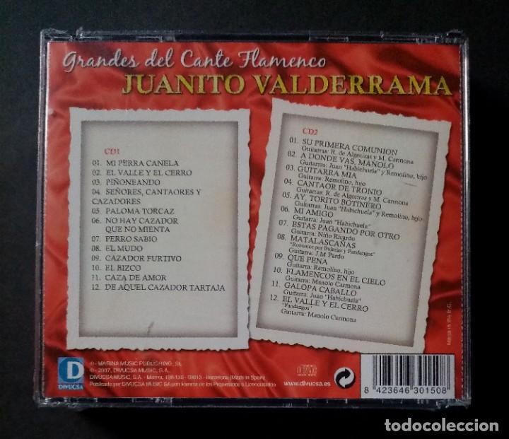 CDs de Música: JUANITO VALDERRAMA - Grandes Del Cante Flamenco - 2xCD´s 2007 - DIVUCSA (Nuevo / Precintado) - Foto 2 - 277761873