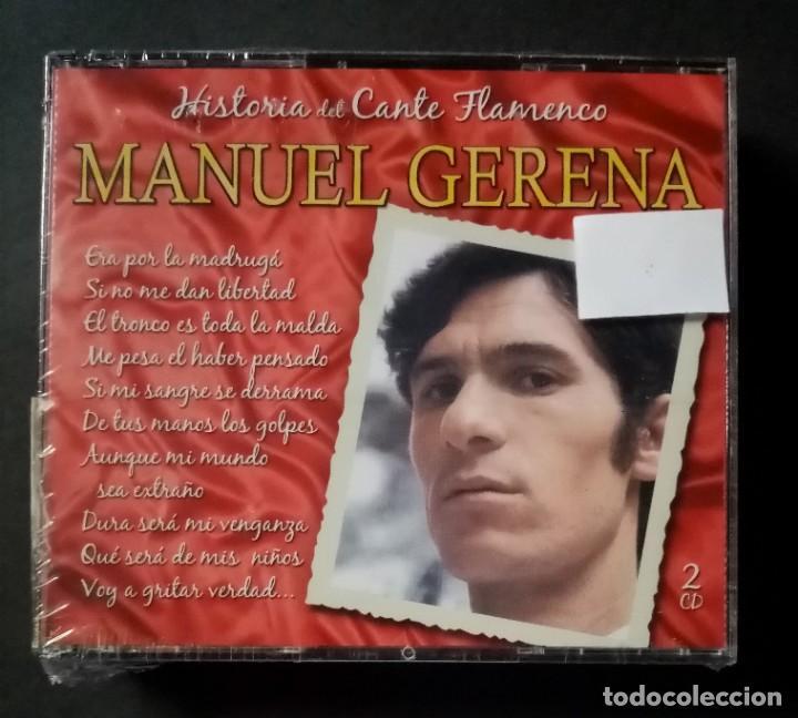 MANUEL GERENA - GRANDES DEL CANTE FLAMENCO - 2XCD´S 2007 - DIVUCSA (NUEVO / PRECINTADO) (Música - CD's Flamenco, Canción española y Cuplé)