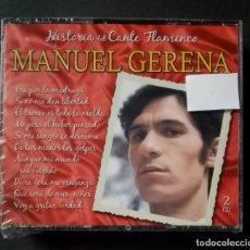 CDs de Música: MANUEL GERENA - GRANDES DEL CANTE FLAMENCO - 2XCD´S 2007 - DIVUCSA (NUEVO / PRECINTADO). Lote 277762048