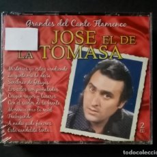 CDs de Música: JOSE EL DE LA TOMASA - GRANDES DEL CANTE FLAMENCO - 2XCD´S 2007 - DIVUCSA (NUEVO / PRECINTADO). Lote 277762148