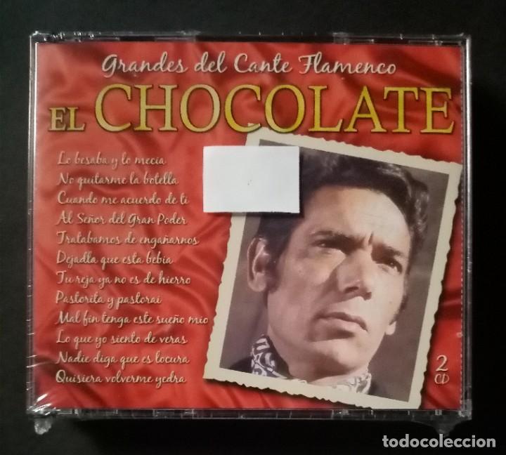 EL CHOCOLATE - GRANDES DEL CANTE FLAMENCO - 2XCD´S 2007 - DIVUCSA (NUEVO / PRECINTADO) (Música - CD's Flamenco, Canción española y Cuplé)