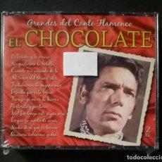 CDs de Música: EL CHOCOLATE - GRANDES DEL CANTE FLAMENCO - 2XCD´S 2007 - DIVUCSA (NUEVO / PRECINTADO). Lote 277762263