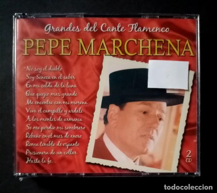 PEPE MARCHENA - GRANDES DEL CANTE FLAMENCO - 2XCD´S 2007 - DIVUCSA (NUEVO / PRECINTADO) (Música - CD's Flamenco, Canción española y Cuplé)