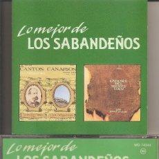 CDs de Música: LOS SABANDEÑOS - LO MEJOR DE LOS SABANDEÑOS VOL. 3 (CD, RCA 1989). Lote 277762398