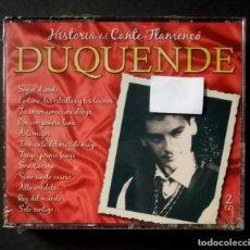 CDs de Música: DUQUENDE - GRANDES DEL CANTE FLAMENCO - 2XCD´S 2007 - DIVUCSA (NUEVO / PRECINTADO). Lote 277762558