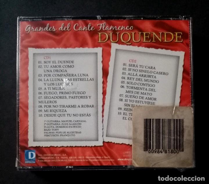 CDs de Música: DUQUENDE - Grandes Del Cante Flamenco - 2xCD´s 2007 - DIVUCSA (Nuevo / Precintado) - Foto 2 - 277762558