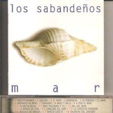 CDs de Música: LOS SABANDEÑOS - MAR (CD, DISCOS MANZANA 1996). Lote 277762668