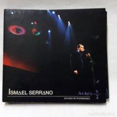 CDs de Música: CD DOBLE DE ISMAEL SERRANO PRINCIPIO DE INCERTIDUMBRE CD DOBLE 2003. Lote 277764553