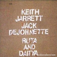 CDs de Música: KEITH JARRETT / JACK DEJOHNETTE. RUTA & DAITYA (CD). Lote 277783013