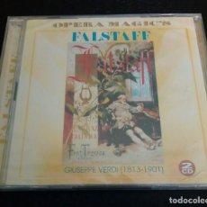 "CDs de Música: VERDI. ""FALSTAFF"" TADDEI. CARTERI. EN VIVO, TURIN 1950. (2CDS). Lote 277825913"