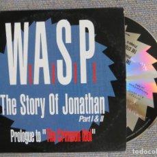 CDs de Música: W.A.S.P.: THE STORY OF JONATHAN PAT I &II (CD PROMOCIONAL) MUY RARO !!!!!!!!!!!. Lote 277832233