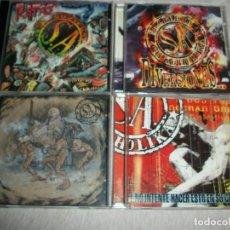 CD de Música: SOZIEDAD ALKOHOLIKA LOTE 4 CD (Y ESE QUE TANTO HABLA/RATAS/DIVERSIONES/NO INTENTE...). Lote 277838673