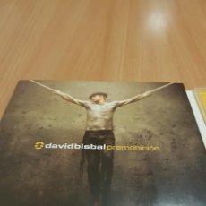 CDs de Música: CD DAVID BISBAL PREMONICIÓN. Lote 277845413