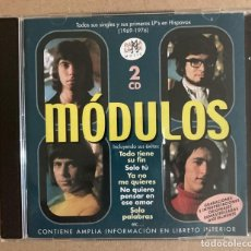 CDs de Música: MÓDULOS - DOBLE CD RAMALAMA. Lote 277848913