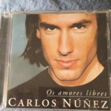 """CDs de Música: CD CARLOS NUÑEZ """" OS AMORES LIBRES """". Lote 277853023"""