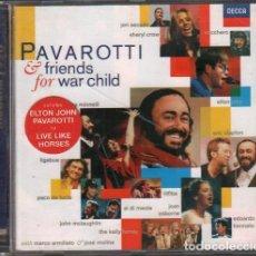 CDs de Musique: PAVAROTTI - & FRIENDS FOR WAR CHILD / CD ALBUM DE 1996 / MUY BUEN ESTADO RF-10383. Lote 277861493