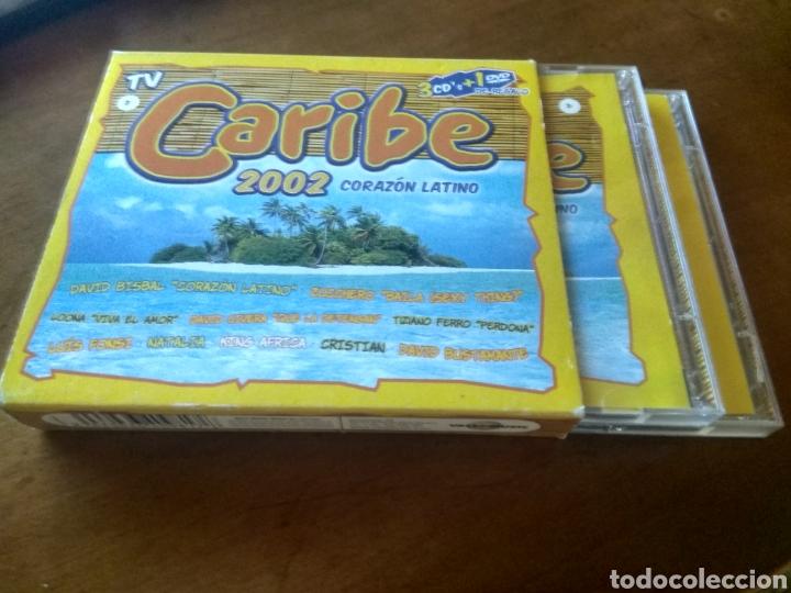 CD MUSICA CARIBE 2002 CORAZON LATINO BUEN ESTADO COMPLETO (Música - CD's Latina)