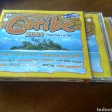 CDs de Música: CD MUSICA CARIBE 2002 CORAZON LATINO BUEN ESTADO COMPLETO. Lote 277927828