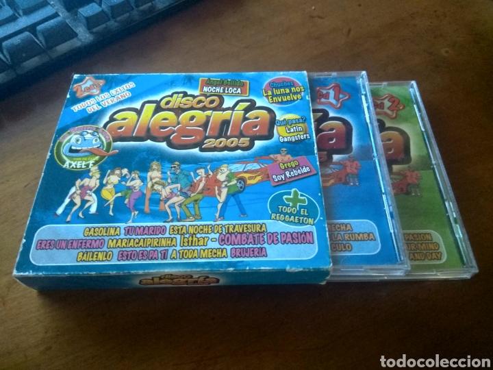 CD MUSICA DISCO ALEGRIA 2005 BUEN ESTADO COMPLETO (Música - CD's Latina)