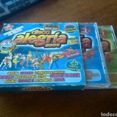 CDs de Música: CD MUSICA DISCO ALEGRIA 2005 BUEN ESTADO COMPLETO. Lote 277927883