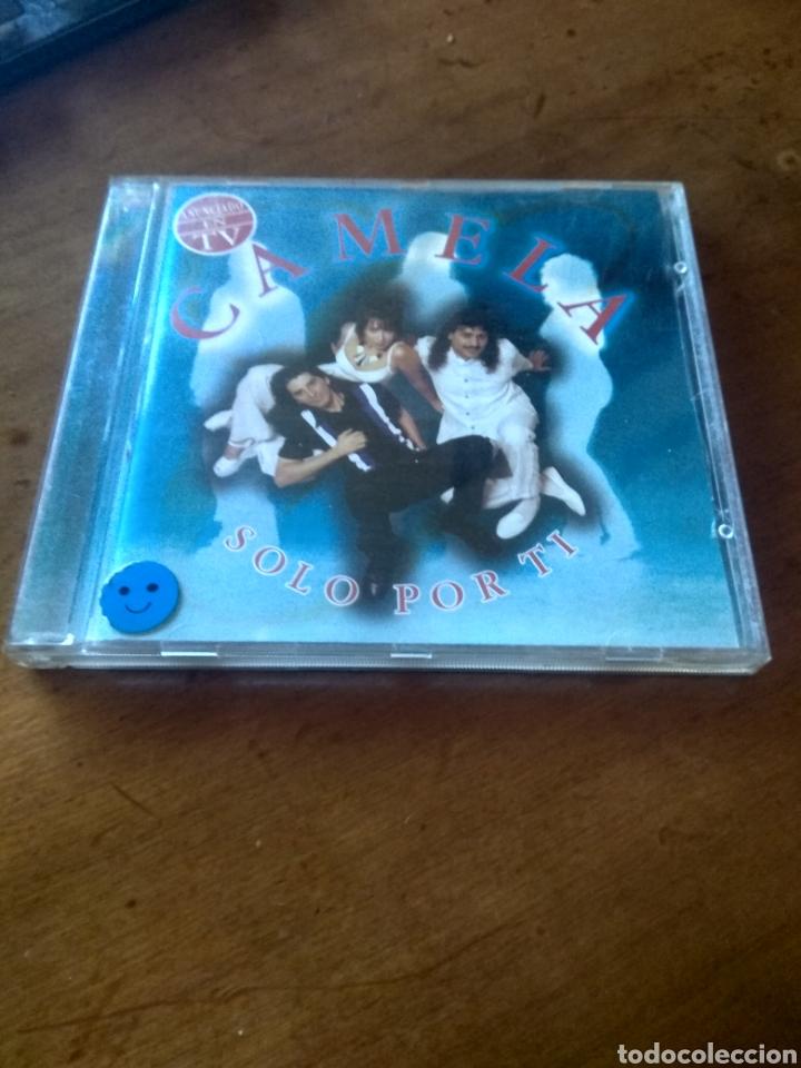 CD MUSICA CAMELA SOLO POR TI BUEN ESTADO COMPLETO (Música - CD's Latina)