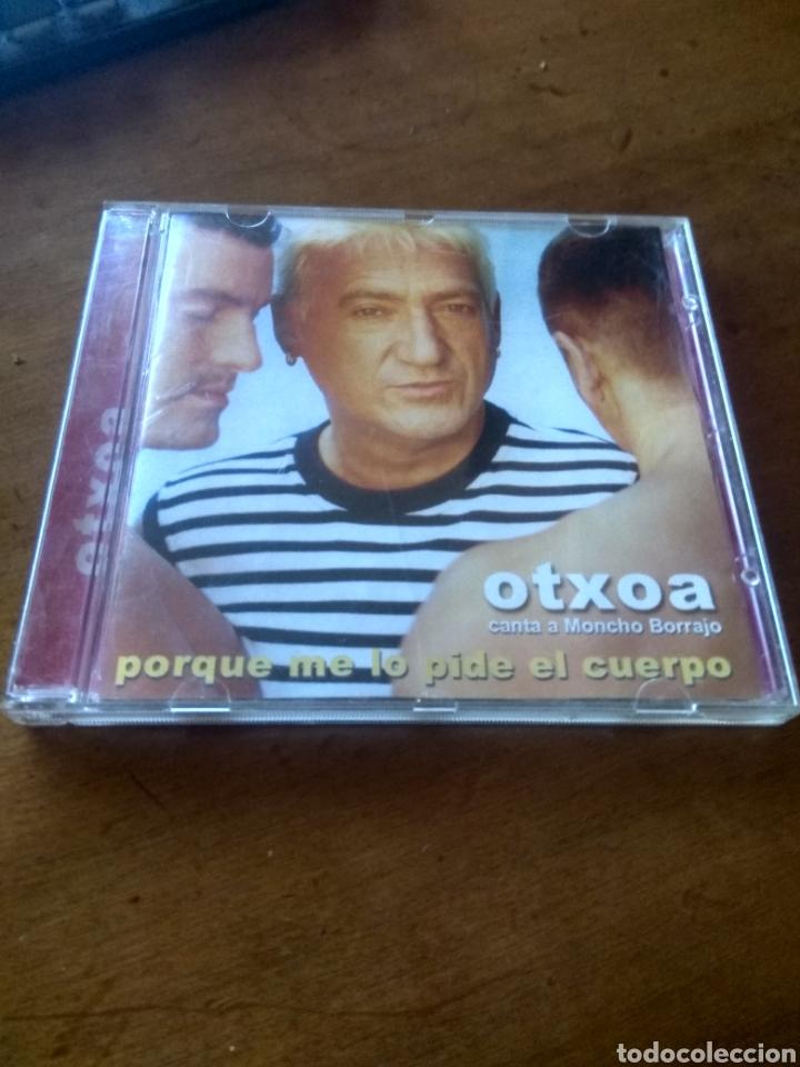 CD MUSICA OTXOA PORQUE ME LO PIDE EL CUERPO BUEN ESTADO COMPLETO (Música - CD's Latina)