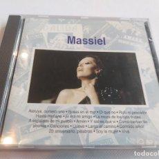 CDs de Música: MASSIEL - 18 TEMAS. Lote 278162283