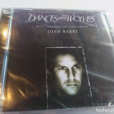 CDs de Música: BAILANDO CON LOBOS - JOHN BARRY / PRECINTADO. Lote 278162398