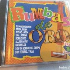 CDs de Música: RUMBAS DE ORO - 18 ÉXITOS. Lote 278163858
