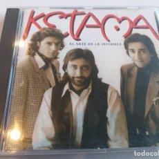 CDs de Música: KETAMA - EL ARTE DE LO INVISIBLE. Lote 278164418