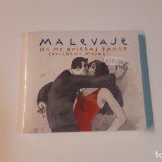 CDs de Música: 0721-MALEVAJE-NO ME QUIERAS TANTO QUIEREME MEJOR/CD NUEVO PRECINTADO LIQUIDACIÓN. Lote 278184308