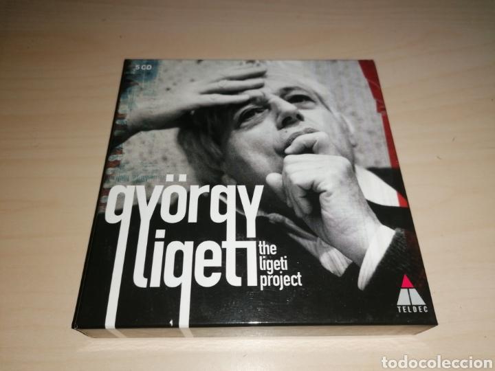 GYÖRGY LIGETI - THE LIGETI PORJECT - 5 CD (Música - CD's Clásica, Ópera, Zarzuela y Marchas)