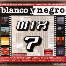 CDs de Música: BLANCO Y NEGRO MIX 7. TRIPLE CD.. Lote 278218758