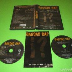 CDs de Música: BAGDAD RAP - CD + DVD (DOCU) + LIBRETO - FRANK-T - ZENIT - ARI - EL SEÑOR ROJO - KASE.O .... Lote 278225798