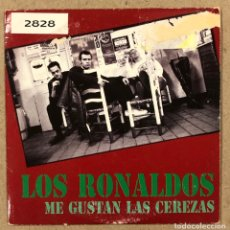 """CDs de Música: LOS RONALDOS """"ME GUSTAN LAS CEREZAS"""". CD SINGLE PROMOCIONAL.. Lote 278230063"""