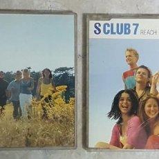 CDs de Música: LOTE 2 CDS - S CLUB 7 - CLUB PARTY Y REACH. Lote 278232293