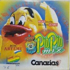 CDs de Música: CD PIO PIO MIX - FUTBOL LAS PALMAS - CANARIAS 7 - 1999. Lote 278232738
