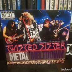 CDs de Musique: TWISTED SISTER - METAL MELTDOWN - LIVE FROM THE HARD ROCK CASINO LAS VEGAS - CD+DVD+BLU-RAY. Lote 278234333