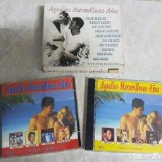 CDs de Música: AQUELLOS MARAVILLOSOS AÑOS - MUCHOS ARTISTAS - FALTA CD 1. Lote 278234898