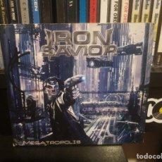 CDs de Musique: IRON SAVIOR - MEGATROPOLIS. Lote 278235538