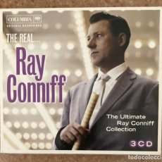 CDs de Música: THE REAL RAY CONNIFF - TRIPLE CD. Lote 278269553