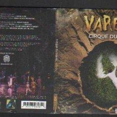 CDs de Música: VAREKAI. CIRUQUE SU SOLEIL. VV.AA. CD-VARIOS-2052. Lote 278280383