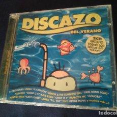 CDs de Música: DISCAZO DEL VERANO. DOBLE DISCO PERFECTO. Lote 278284408