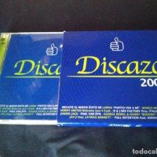 CDs de Música: DISCAZO 2004. DOBLE CD. MBE. Lote 278285153